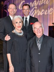 Gala co-chairs (top l-r) Eric Rudolph and Bob Iles and (front l-r) Carol and Dr. Ron Fragen.