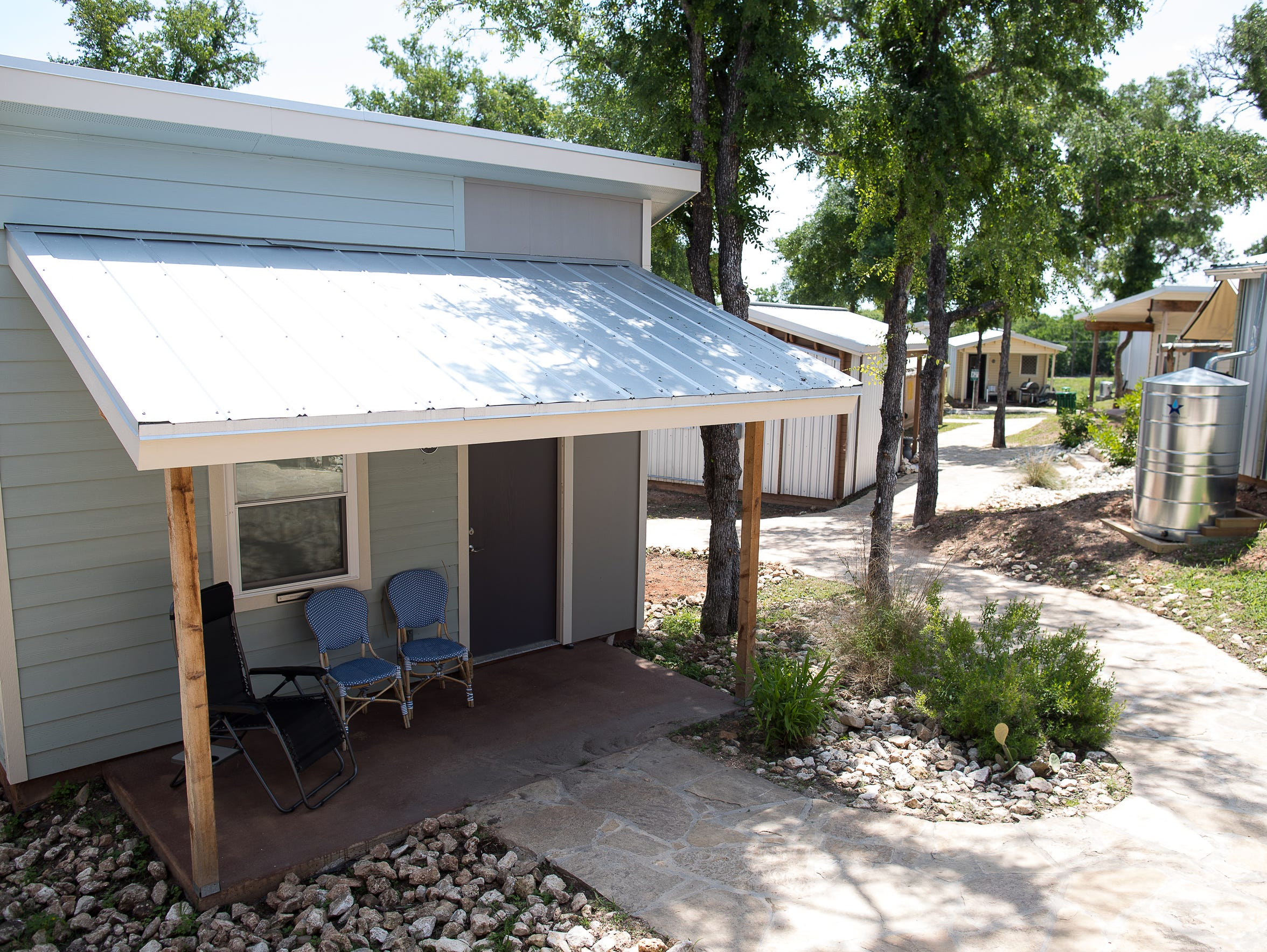 Tiny homes for the chronically homeless in the Community