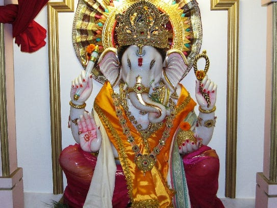 The 2017 Ganesh Festival will be held through Aug.