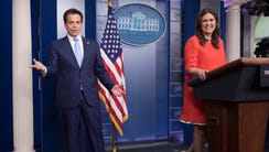 White House communications director Anthony Scaramucci,