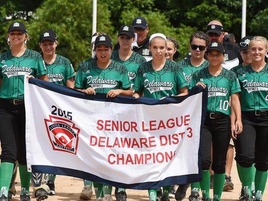 Little League Senior League and Big League Softball