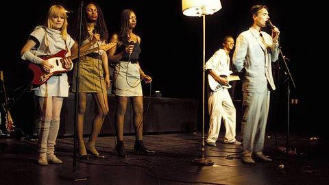 """David Byrne and Talking Heads are captured in their prime in """"Stop Making Sense"""" at The Callicoon Theater  on March 25."""