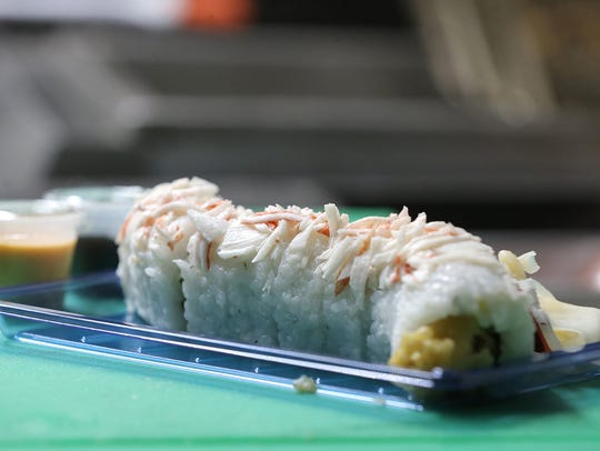 Win Zaw says his Sushi on Wheels food truck rarely