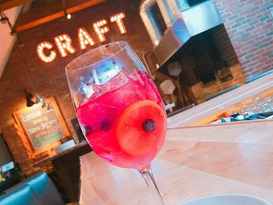 Blueberry lemonade sangria from Capital Craft.