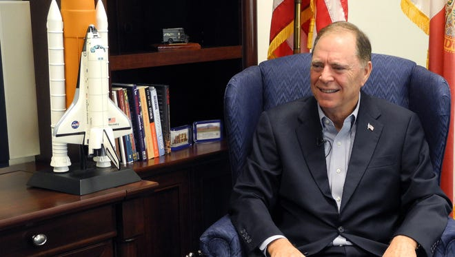 U.S. Rep. Bill Posey (R-Rockledge) is pictured inside his Viera office.