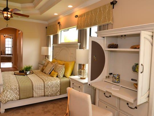 The AMEK Homes Santa Rosa model in the Seville community