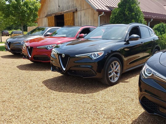 The Alfa Stelvio SUV bears the brand's trademark Trilobo grille - and class-leading dynamics.
