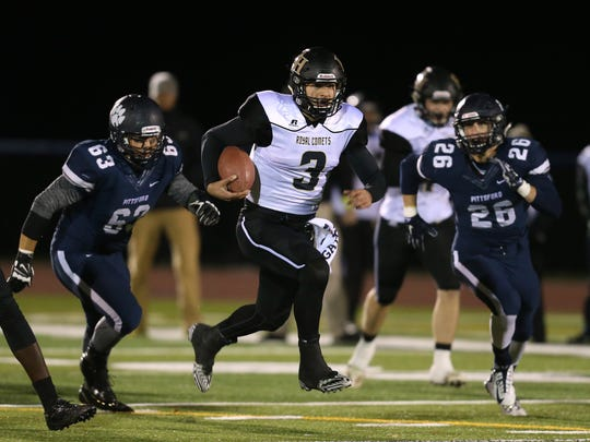 Rush-Henrietta quarterback Jared Gerbino has helped