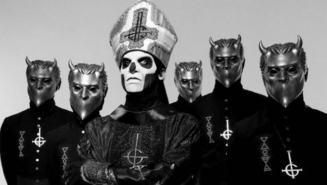 Ghost will perform the Fort Rock Festival on April 30.