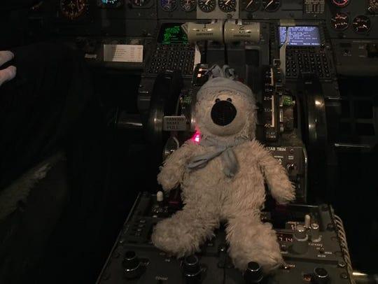 "Teddy says, ""I'm the captain now."""