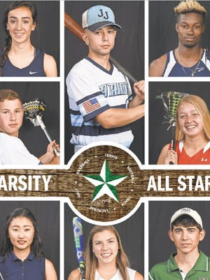 A portion of the 2016 Spring High School All-Stars section.