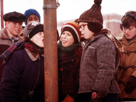 """A scene from """"A Christmas Story."""""""