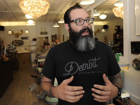 Beard Oil Used To Be This Mysterious Thing Said Company Co Owner Michael Haddad Photo Clarence Tabb Jr Detroit News