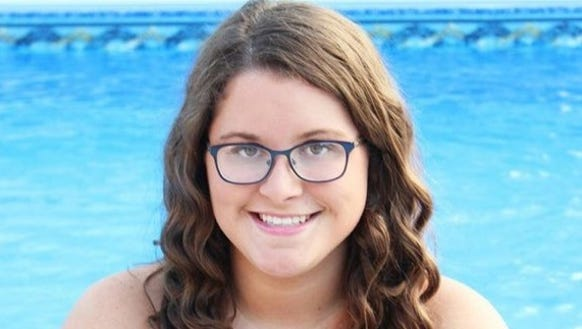 McDowell senior Emma Welborn has committed to swim