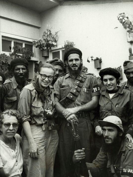Fidel Castro 1959 Cuban Revolution Dickey Chapelle covere...
