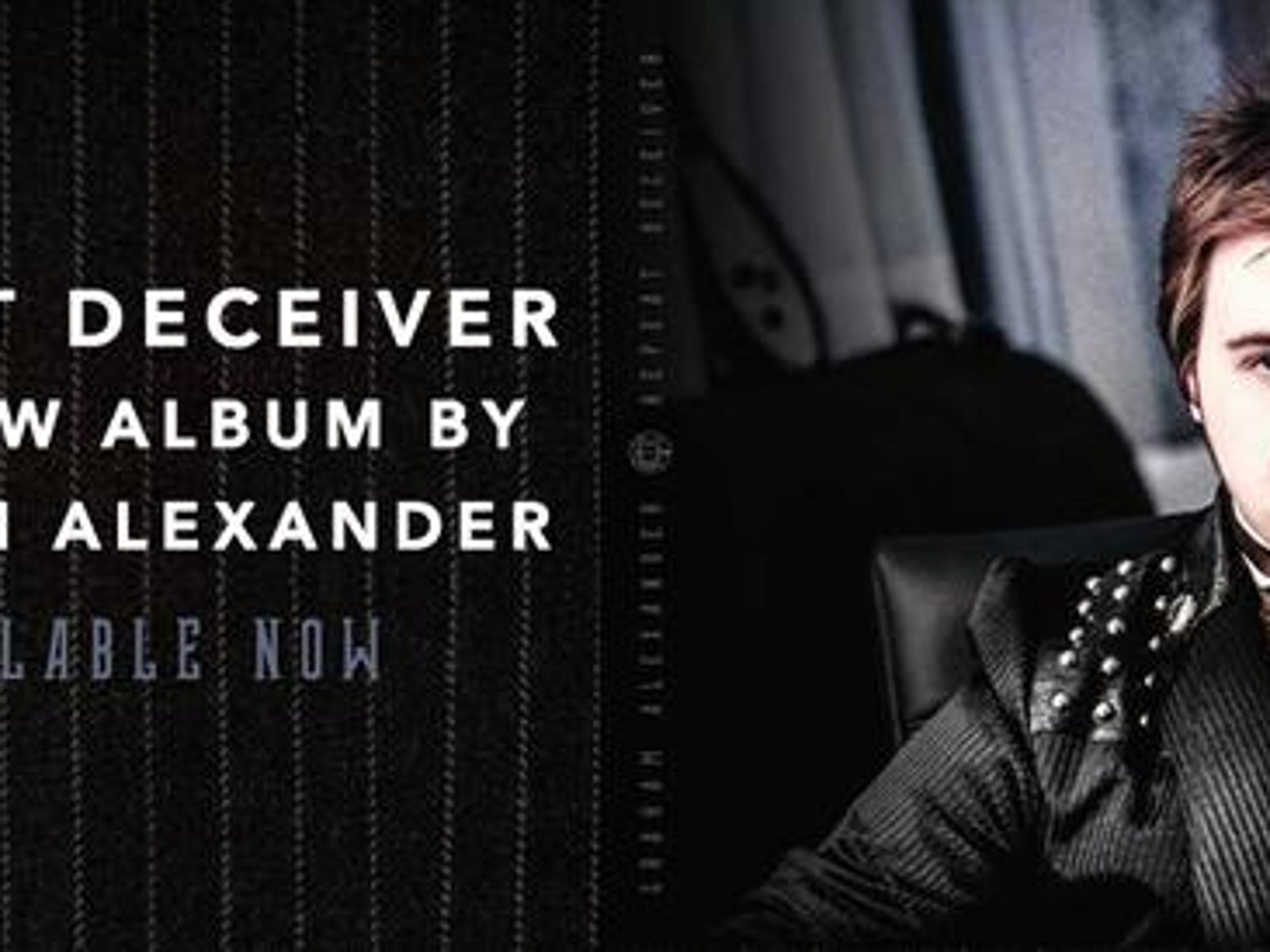 'Rep[eat Deceiver' is a new album by Graham Alexander, the first release off the Victor label since 1945.
