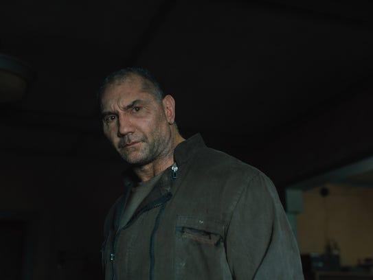 """Dave Bautista stars as replicant Sapper Morton in """"Blade"""