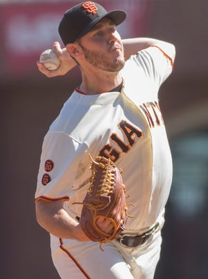 Giants rookie Ty Blach won his first major league game of his career.