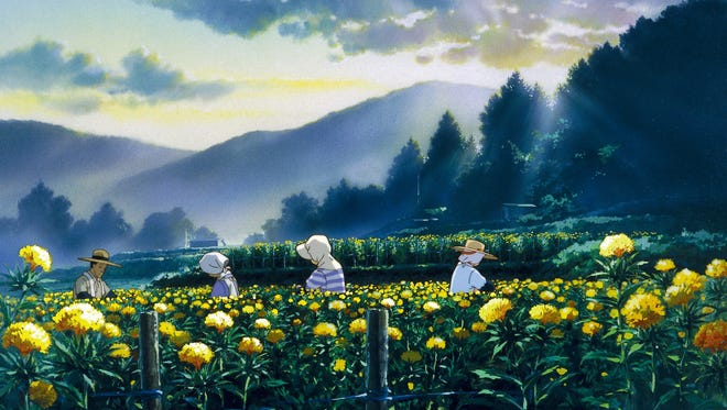 """A scene from Studio Ghibli's """"Only Yesterday."""""""