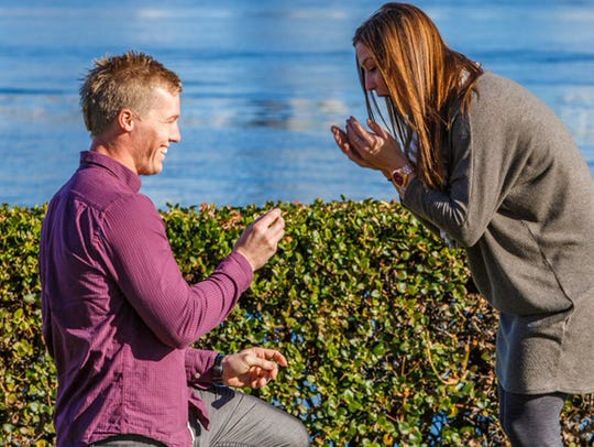 Sam Willoughby and Alise Post got engaged on Dec. 27