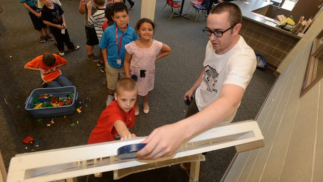 Kids play a game at  the Boys and Girls Clubs of Wayne County's Richard E. Jeffers Unit. The organization is one of the 27 participating in Wayne County Foundation's Challenge Match starting Monday.