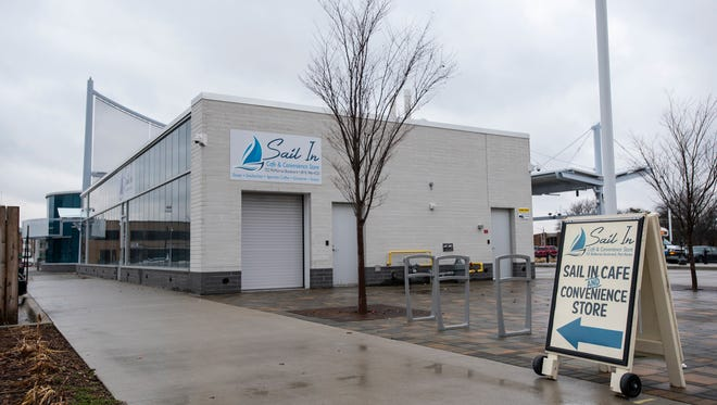 The Sail in Cafe and Convenience Store, located at 722 McMorran Blvd., has been open since mid-2016. CMH announced this month it would close permanently March 27.