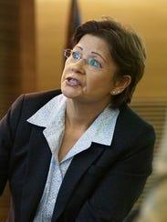 Agnes Blas, a private investigator for the defense,