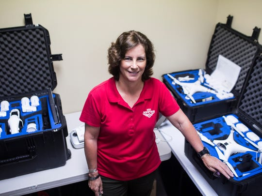 May 25, 2018 - Kerry Stockslager founded 901Drones three years ago to operate drones for commercial purposes and provide training and education. The company has done aerial photo shoots of construction site progress, a coming BBC documentary and a planned rails-to-trail project in Delta Heritage State Park in remote southeast Arkansas.
