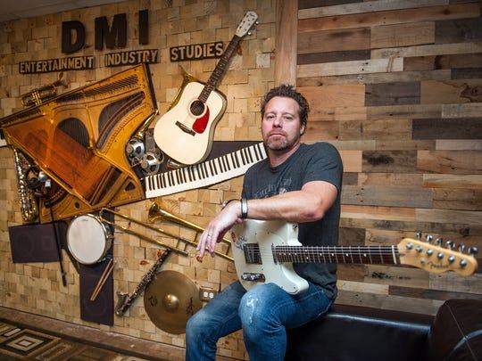 Jabo Bihlman inside Delta State's DMI studio.