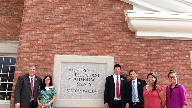 Six new missionaries were called to serve in the Virgin Valley area.