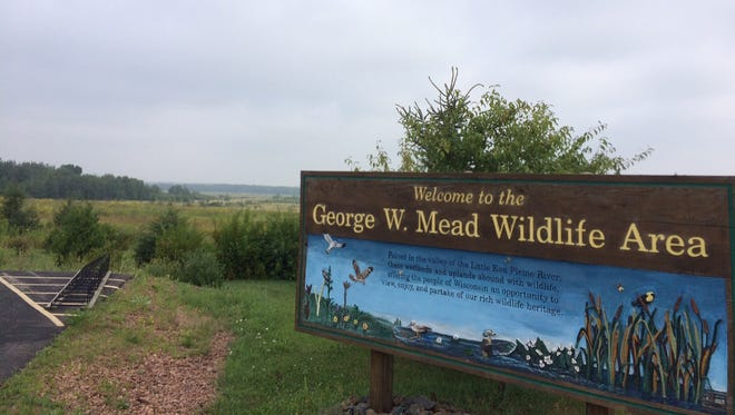The George W. Mead Wildlife Area is 33,000 acres sprawling across the Marathon, Wood and Portage county lines.