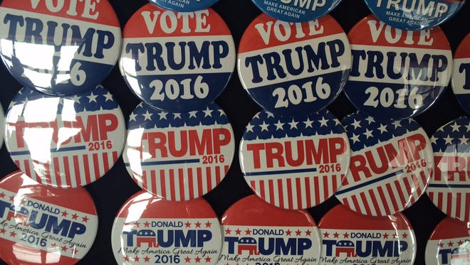 Trump campaign buttons