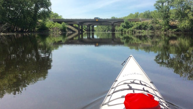 Steve Meurett kayaked the Mississippi River for the first time recently.