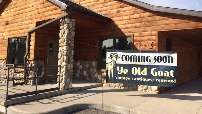 Resale shop Ye Old Goat plans to open a second location in Oshkosh at 2755 Algoma Blvd, the former site of The Reel Shot.