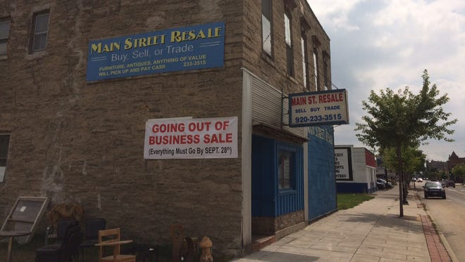 Main Street Resale, 656 N. Main St., Oshkosh, is closing at the end of September.