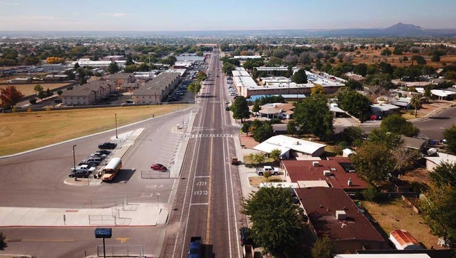 Madrid Avenue is one of the major streets in the Apodaca Park neighborhood in Las Cruces.