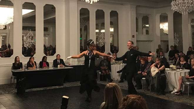 Over 300 spectators to the DoubleTree to jive alongside local celebrities for the Legal Services of North Florida's inaugural Dancing with the Stars fundraiser.