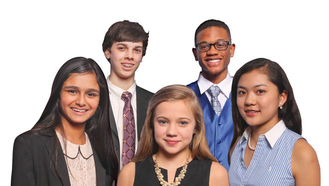 Some of the students who have graduated from the Young Entrepreneurs Academy.