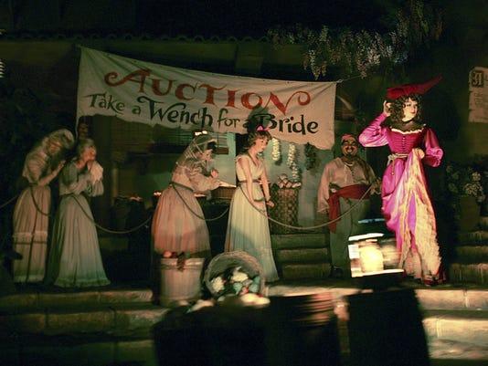 Disneyland Pirates Updated