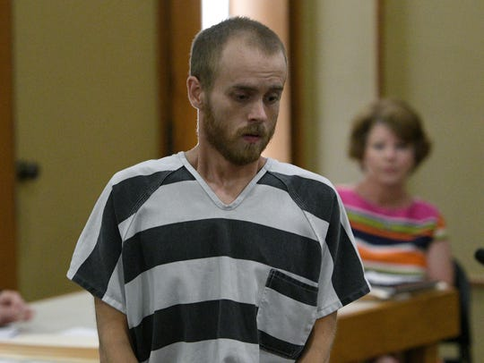 Anthony Dyllan Phillips being arraigned in the killing