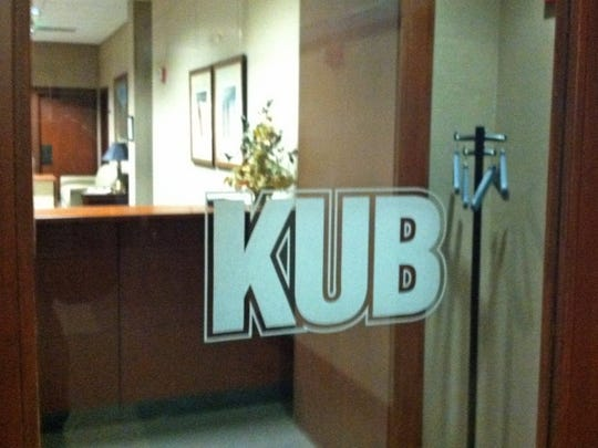 The KUB offices are on Gay Street in downtown Knoxville. (Ed Marcum/News Sentinel)