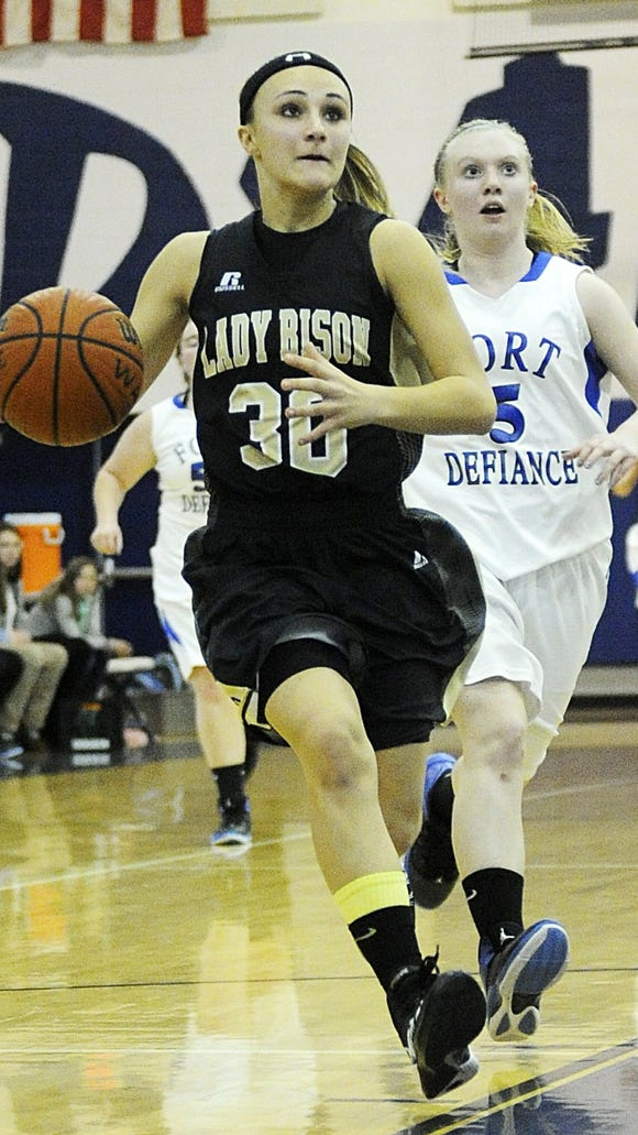 Will Buffalo Gap's Destiny Harper have a breakout year in 2014?