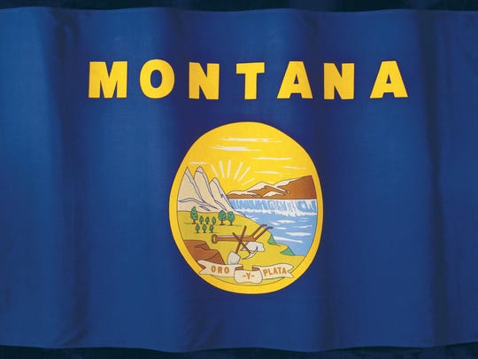 Montana's flag was designed in a hurry during the Spanish-American War.
