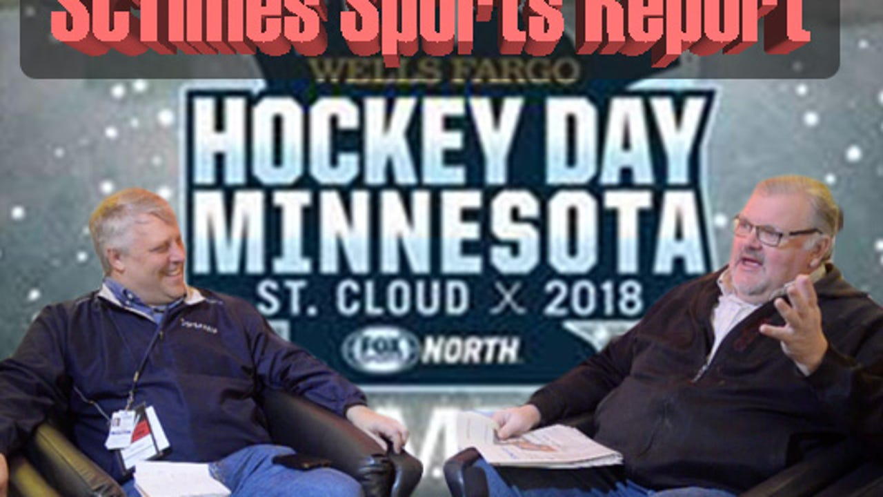 Tom Elliott and Mick Hatten preview Hockey Day Minnesota and talk local sports on SCTimes Sports Report, 1/18/18.