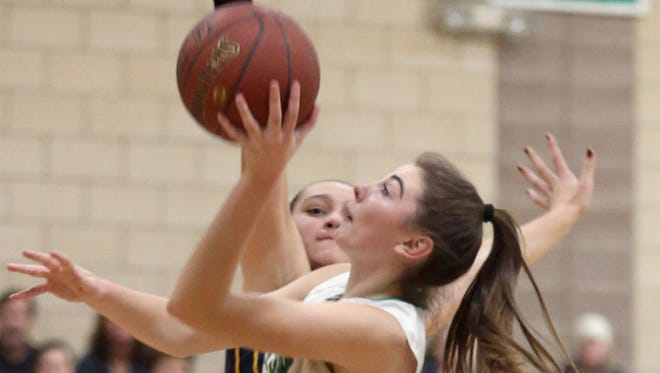 Irvington defeated Pelham in the final game of the 8th annual Autism Classic girls basketball tournament at Irvington High School Jan. 14, 2017.
