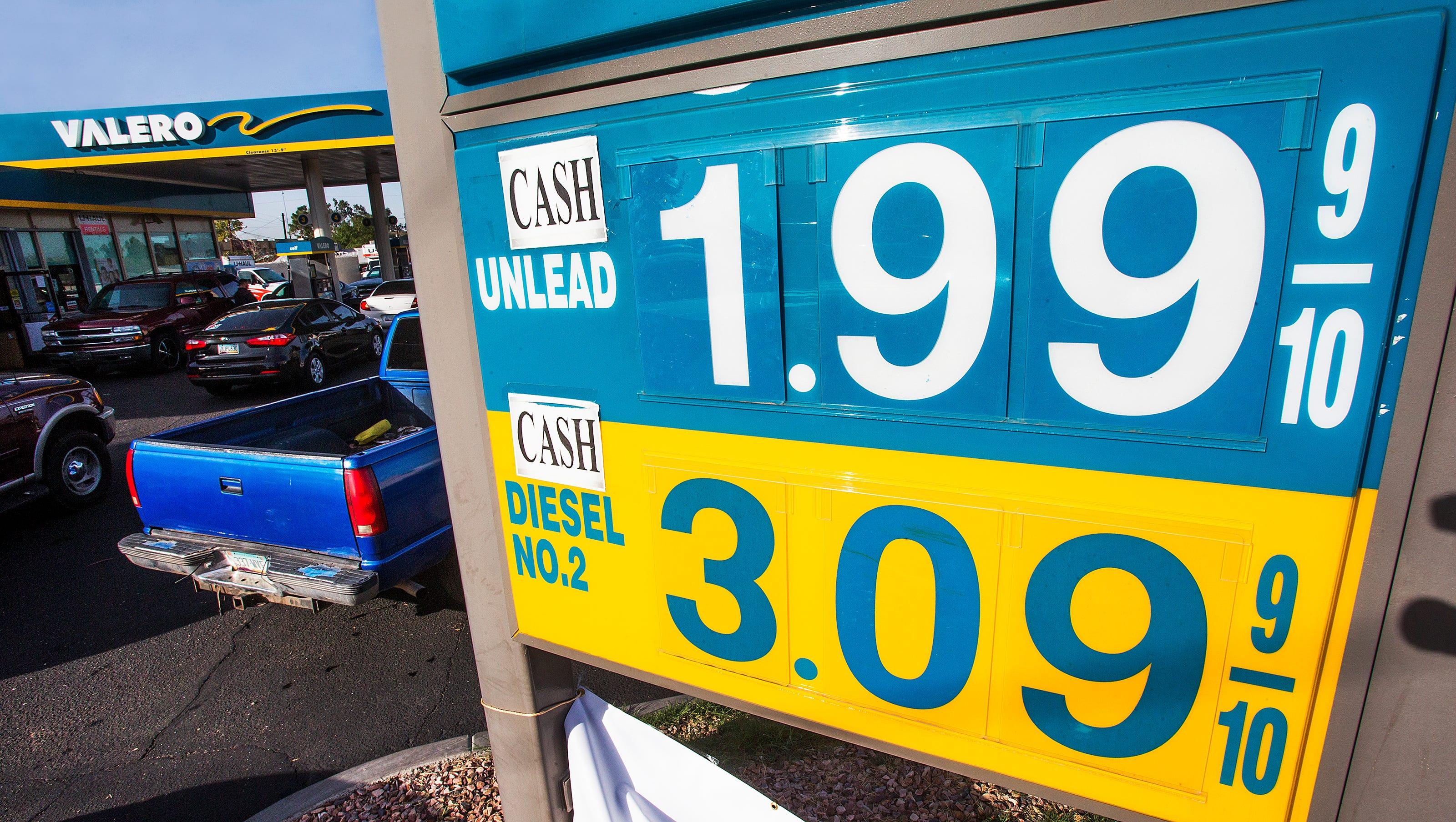 Phoenix Gas Prices >> Phoenix Gas Prices Drop Monday