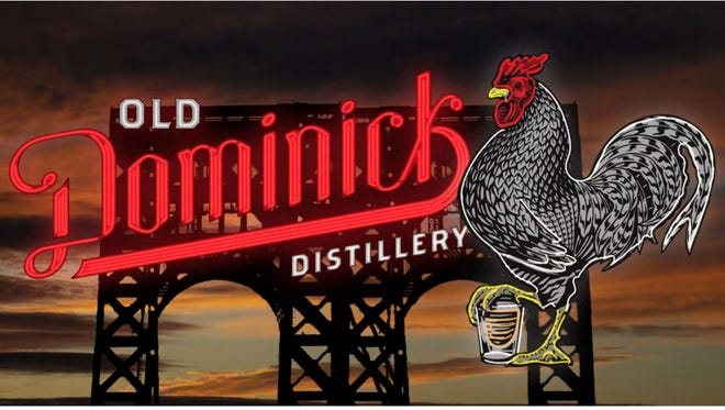 Old Dominick Distillery seeks an exception to the sign rules to mount this rooftop sign on its building Downtown.