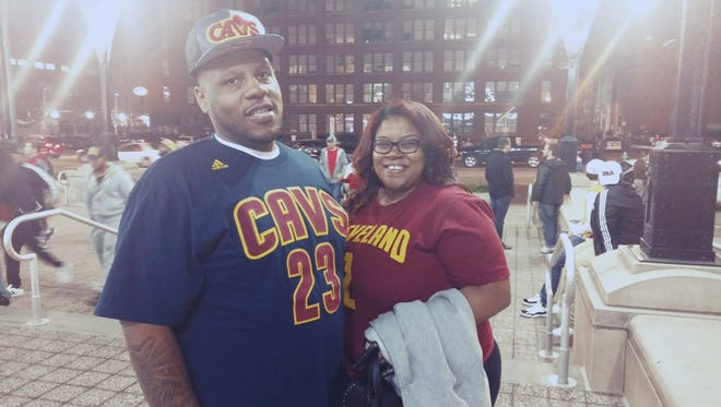 Anthony Knox and Dominique Grant drove to Indianapolis from Chicago to watch LeBron James play the Pacers. But when they heard he wasn't playing they almost turned around and went home.