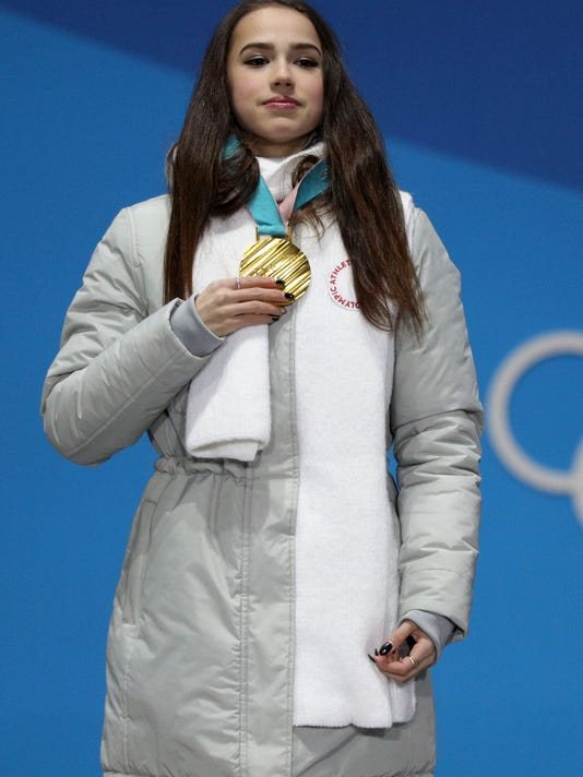 USP OLYMPICS: MEDALS CEREMONY S OLY KOR