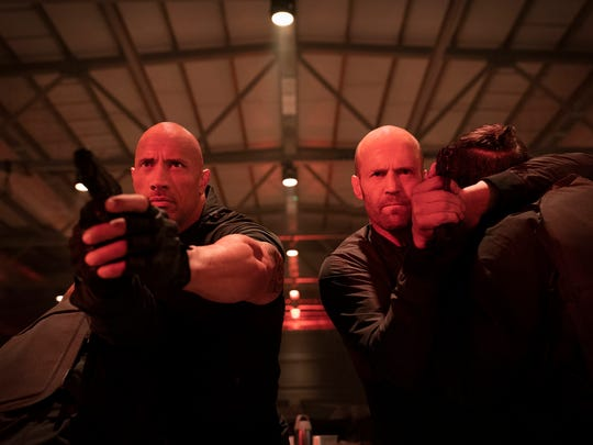 """Dwayne Johnson and Jason Statham shot to the top of the weekend box office with """"Fast & Furious Presents: Hobbs & Shaw."""""""